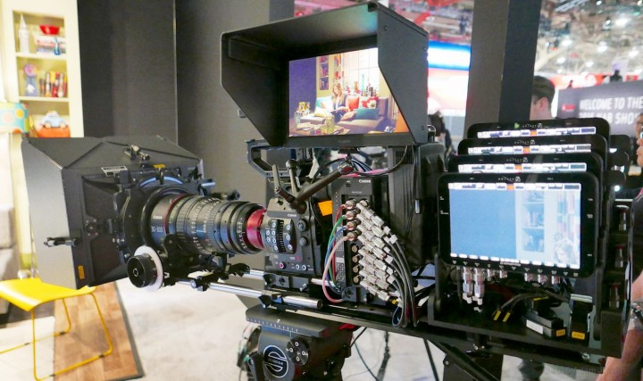 Add four Odyssey7Q+ recorders to make it a camcorder