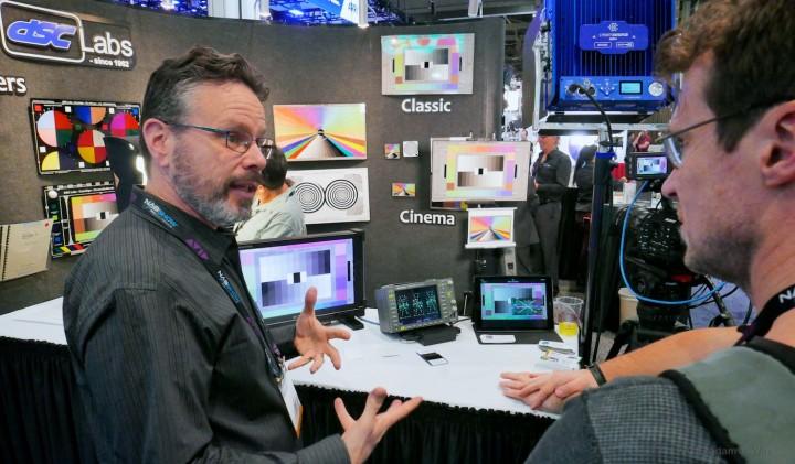DP Art Adams extolling the virtues of DSC Labs charts
