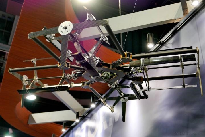 cylinder-rotor UAV