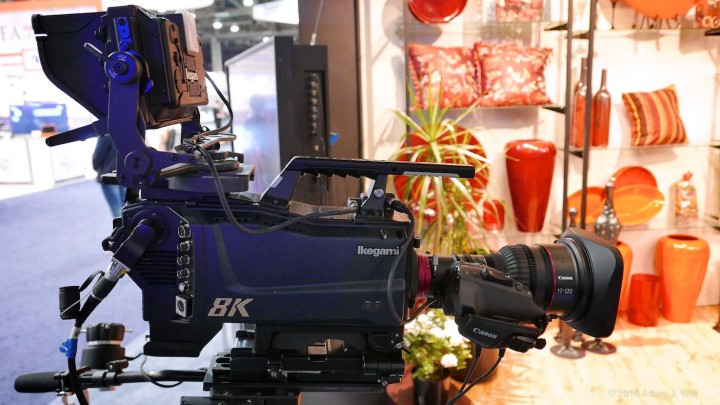 Their 8K camera is no bigger than an HD camera