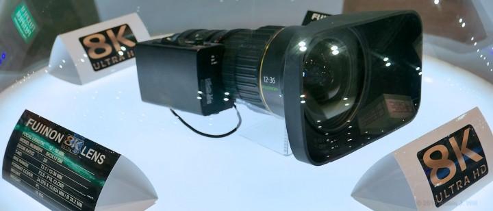 Fujinon's 8K large-sensor zoom