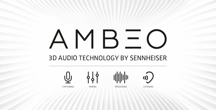 AMBEO is Sennheiser's program and trademark for 3D audio