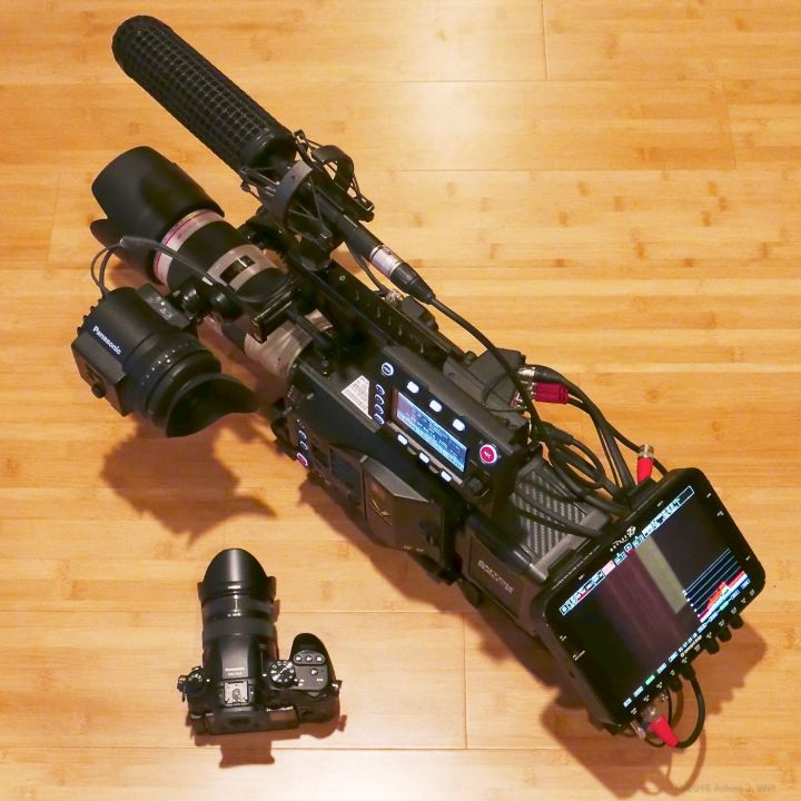 VariCam LT with GH4 for comparison