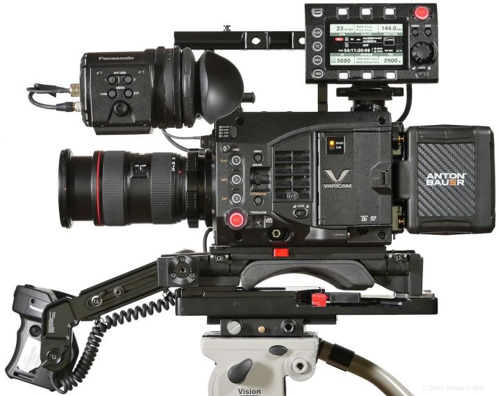 VariCam LT left side