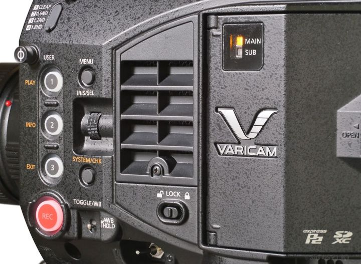 VariCam LT left side, close up
