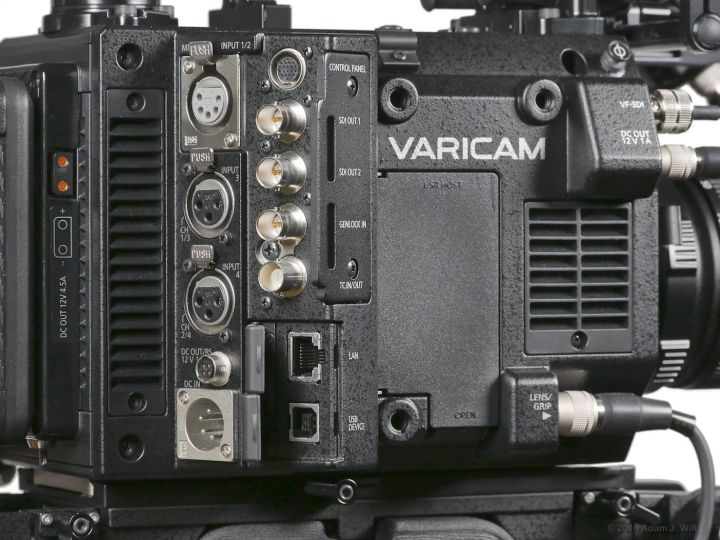 VariCam LT I/O panel