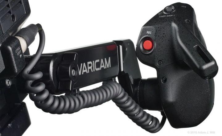 VariCam LT hand grip