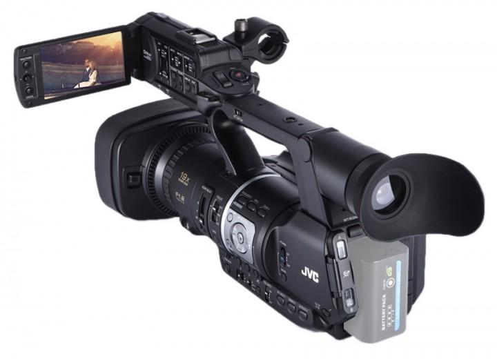 JVC-JY-HM360-Professional-Handheld-1080P-HD-Camcorder-18-9-Mega-Pixels-CMOS-Sensor-9H-Runtime
