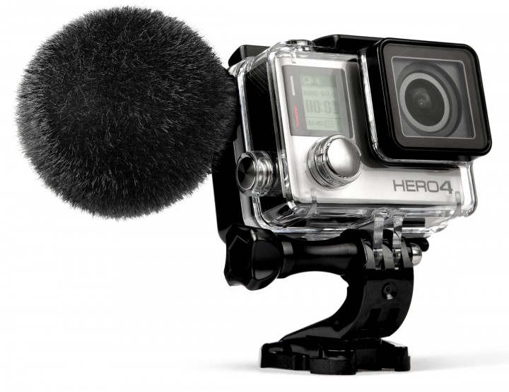 "The waterproof MKE 2 elements is the first mic for the HERO4 camera to obtain ""Works with GoPro"" verification."