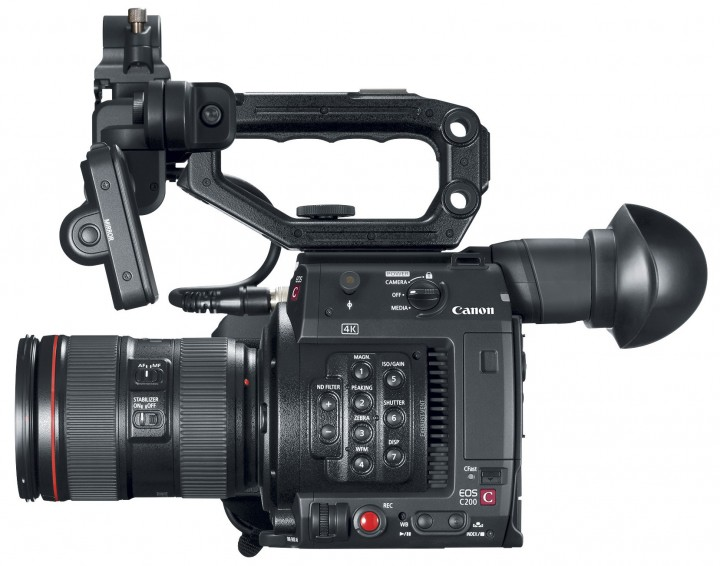 C200 with included LCD monitor and top handle