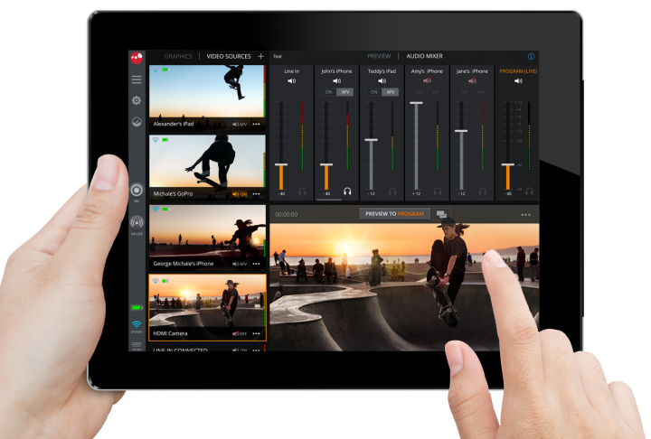 SlingStudio iPad Console app 2