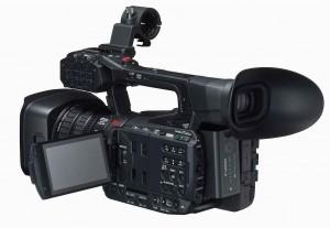 Canon XF205 OLED display