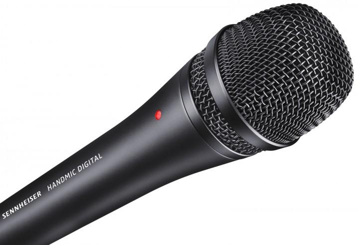 Sennheiser's HANDMIC Digital brings professional audio quality to iOS devices, Macs and PCs