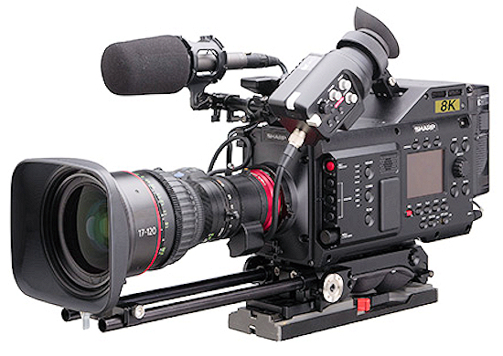 Sharp 8C-B60A 8K Professional Camcorder  at DV Info Net