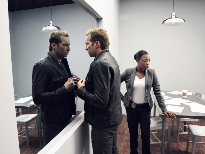 Ryan Hansen Solves Crimes On Television* pokes fun at Hollywood, as well as action movies, sitcoms, and crime procedural shows. (Photo courtesy of YouTube Red)