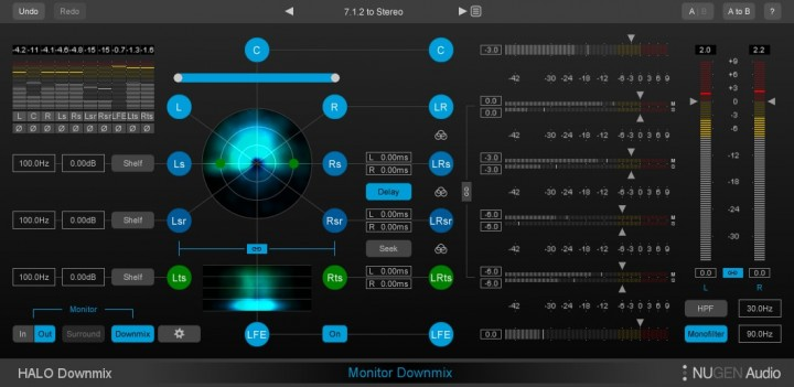 NUGEN Audio_Halo Downmix_7_1_2_to_Stereo