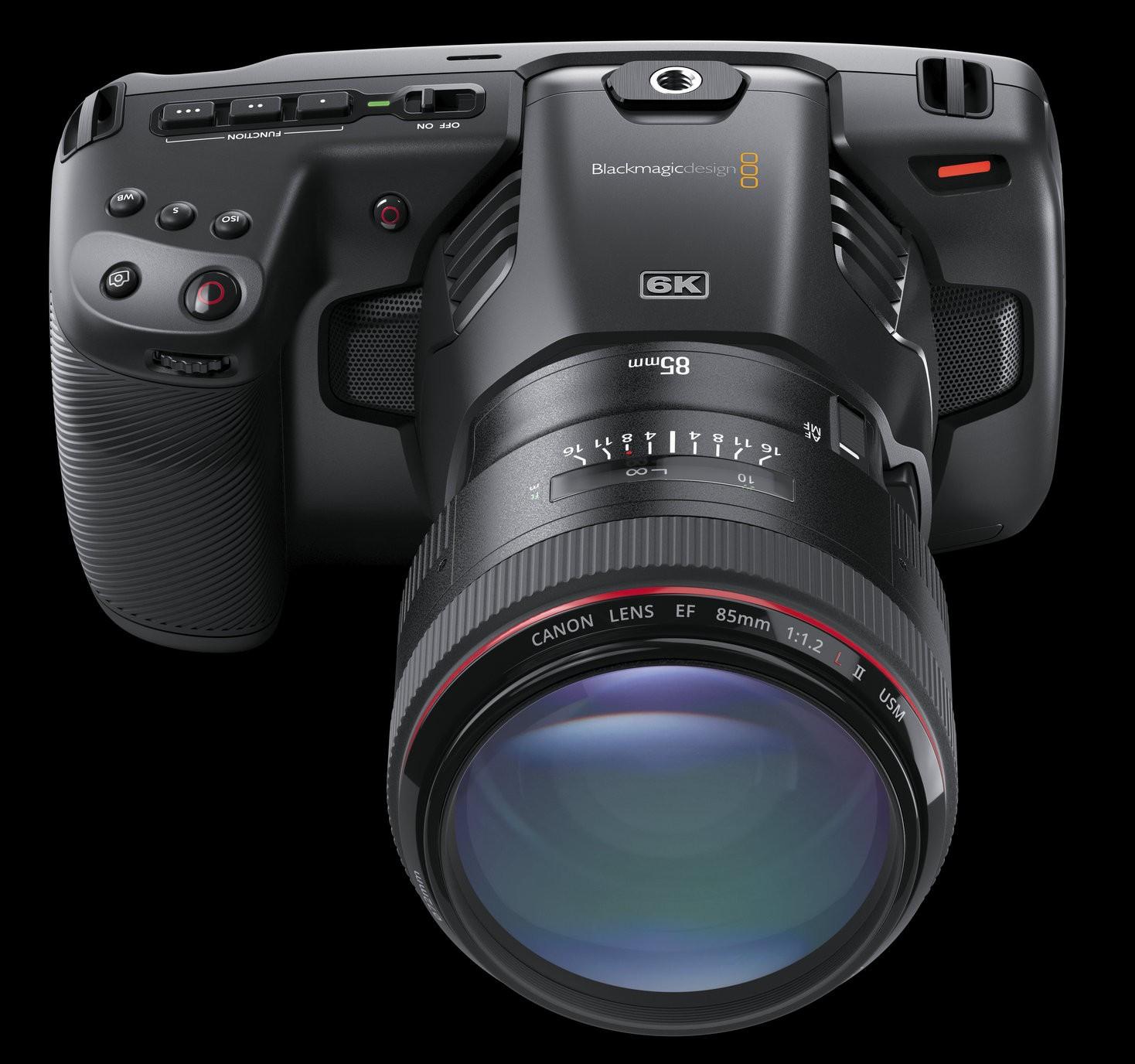 Blackmagic Design Announces New Blackmagic Pocket Cinema Camera 6k